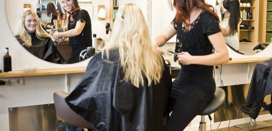 美容師、美容室、フェイルシールドイメージ