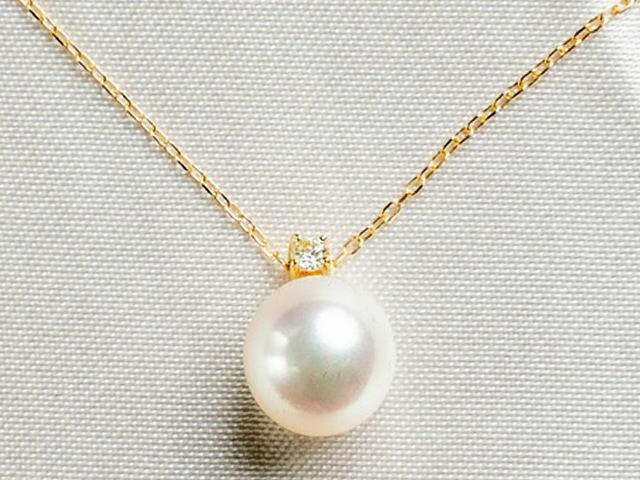アコヤ真珠 ダイヤモンドネックレス